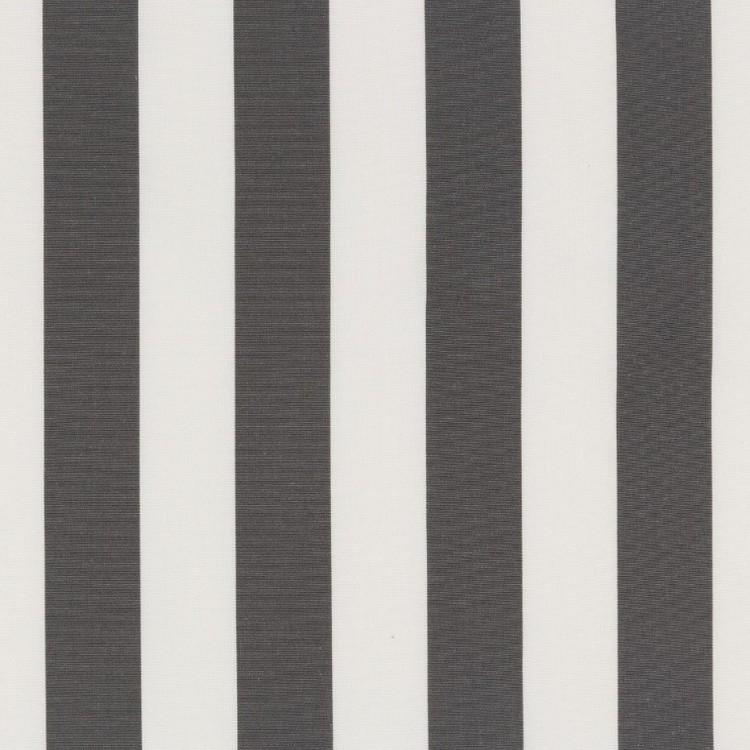 Markisväv/uteväv Blockrand mörkgrå. Material 100% Dralon. Bredd 130 cm.