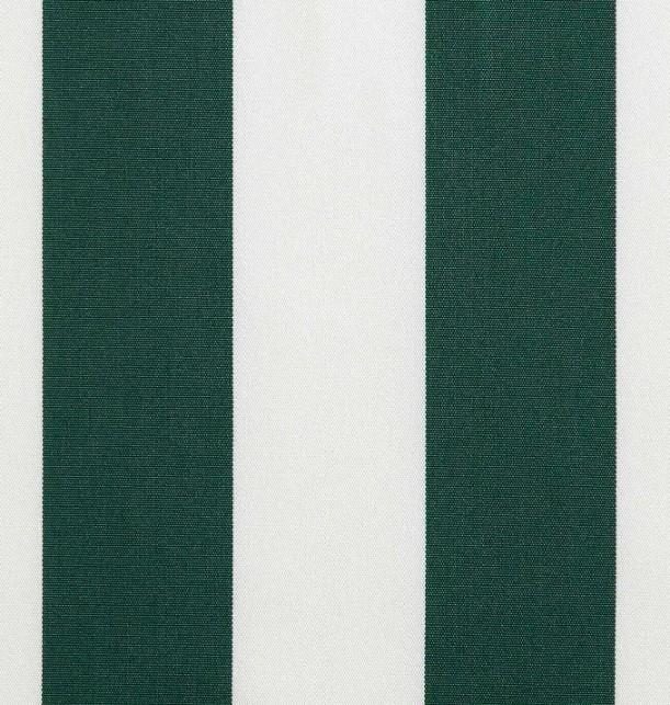 Markisväv/uteväv Blockrand grön. Material 100% Dralon. Bredd 130 cm.