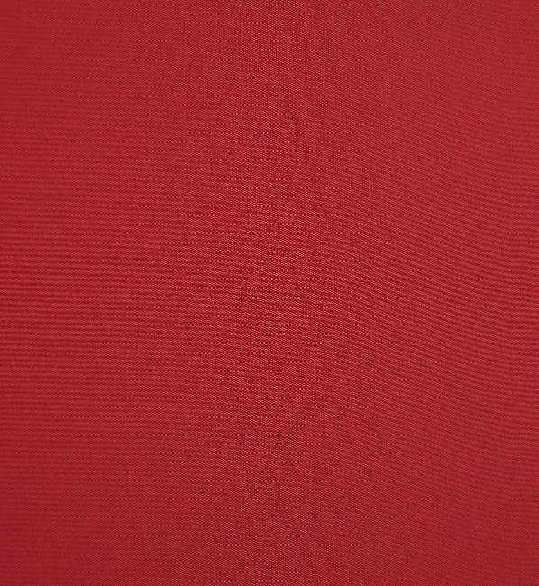 Markisväv/uteväv enfärgad röd. Material 100% Dralon. Bredd 130 cm.