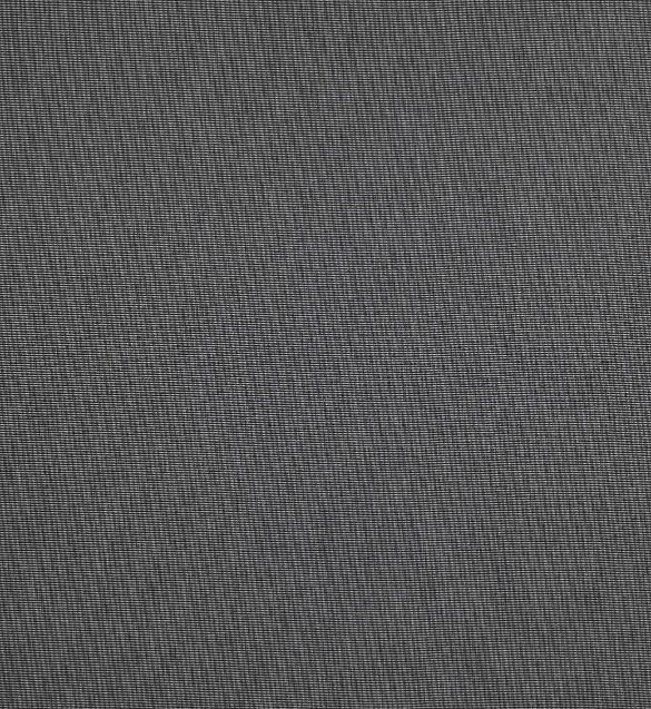 Markisväv/uteväv Melerad mörkgrå. Material 100% Dralon. Bredd 130 cm.