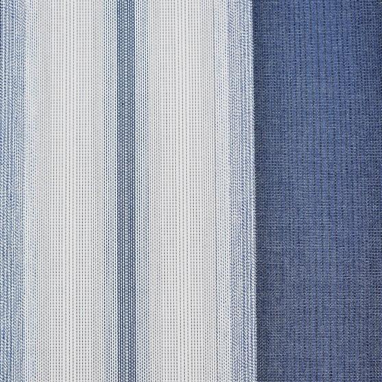 Markisväv/uteväv Bali Blå. Material 100% Dralon. Bredd 130 cm.