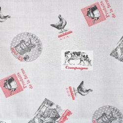 Textilvaxduk på metervara från Boel & Jan. Bredd 160 cm.