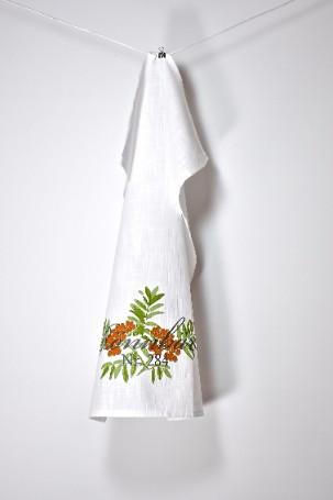 Kökshandduk Rönnbär. Mått 1 x 50 x 70 cm. Material: 100% bomull.