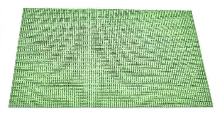 Tablett. Färg grön. Mått 30 x 45 cm. Material 100% vävd polypropylene.