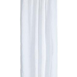 Gardinset i vitt med två längder med dolda hällor. Mått 2 x 130 x 220 cm.
