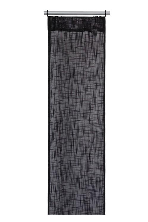 Panelgardiner 2 st från Noble house. Färg: Svart. Mått 2 x 40 x 240 cm. Material 100% polyester.