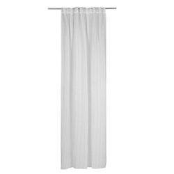 Gardinset Vistorp med två gardinlängder. Färg: Vit. Mått: 130 x 240 cm. Material: 100% polyester.