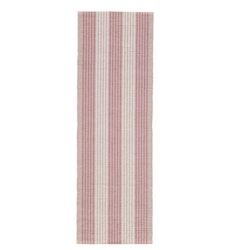 Löpare Randan. Färg: Foggy pink. Mått: 35 x 110 cm. Material: 100% bomull.
