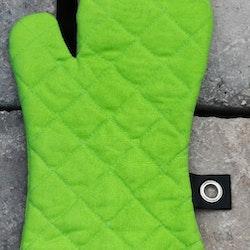 Grytvante Tove. Färg: Lime. Mått: 15 x 30 cm. Material: Tyg 100% bomull. Stoppning 100% polyester.