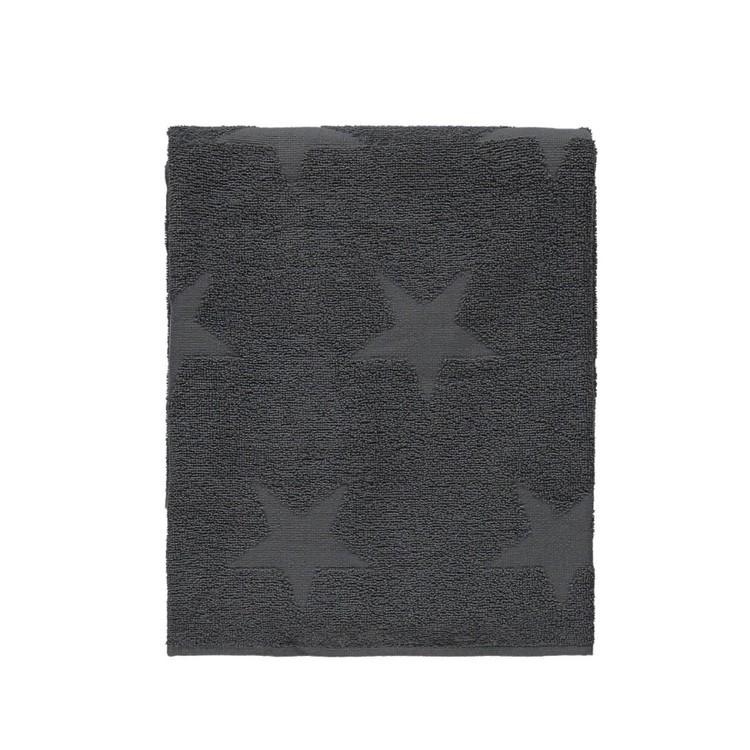 Badlakan Nova star från Noble house. Färg: Grå. Mått: 70 x 130 cm.