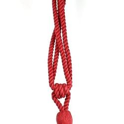 Tassels/Gardinomtag med tofs. Färg: Röd. Längd: 53 cm.