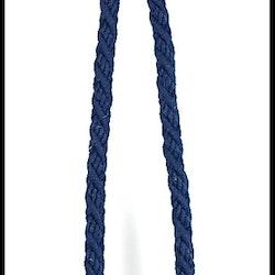 Tassels/Gardinomtag. Färg: Marinblå. Längd: 90 cm. Material: Bomull.