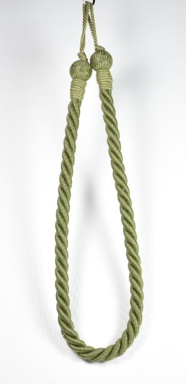 Tassels/Gardinomtag. Färg: Grön. Längd: 90 cm.