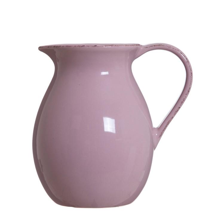 Lona tillbringare 1,2 l från Modern House.  Färg: Rosa. Material: Keramik. Mått: D 14, H 20 cm.
