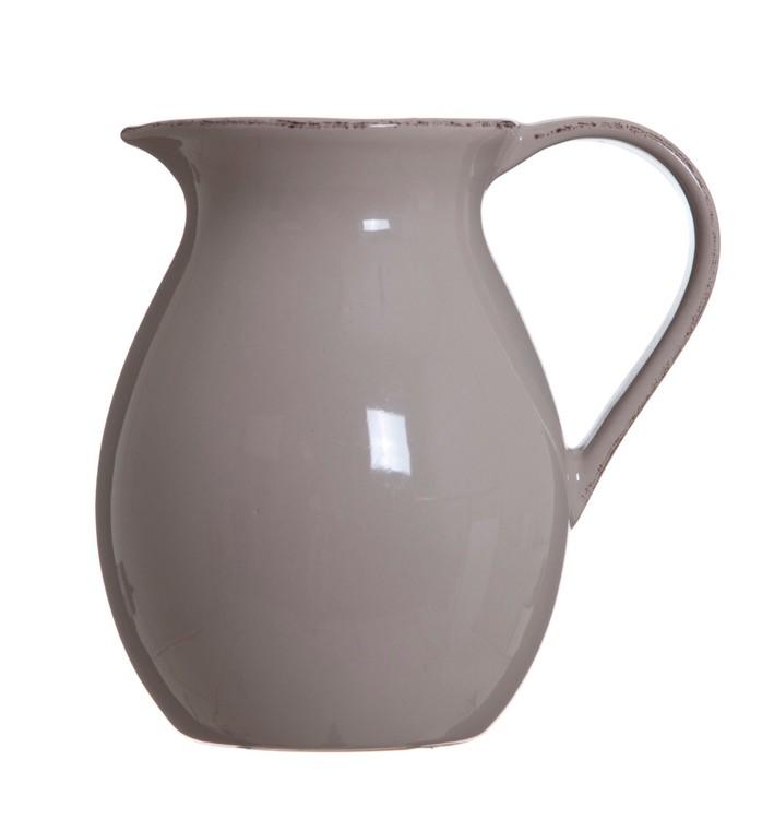 Lona tillbringare 0,85 l från Modern House.  Färg: Beige. Material: Keramik. Mått: D 12, H 15 cm.