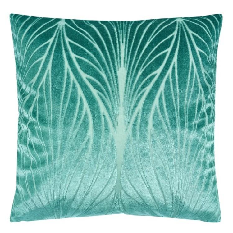 Elips kuddfodral i sammet från Jakobsdals. Färg: Grön.