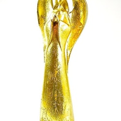 Ängel i guld. Färg: Guld.