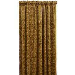 Pavia, 240 cm en multibandslängd i sammet från Jakobsdals. Färg: Guld.