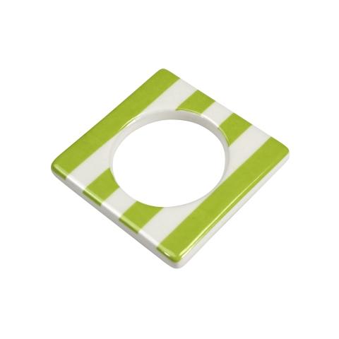Change ljusmanchett från Cult design. Färg: Vit med gröna ränder.