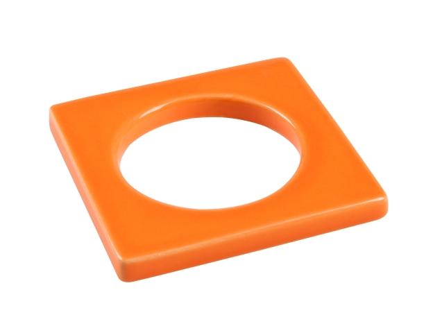 Change ljusmanchett från Cult design. Färg: Orange.