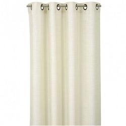 Silk look en öljettlängd från Jakobsdals. Färg: Off-white.