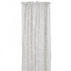 Rep ett gardinset från Boel & Jan. Färg: Vit oc.h grå.