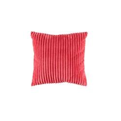 Flanel en härligt mjuk kudde i Manchestersammet. Färg: Sweet pea red.