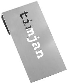 Tag Timjan från Cult design. Färg: Metall.