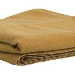 Enzyme ett härligt enfärgat överkast till dubbelsäng i tvättad bomull. Färg Gul.