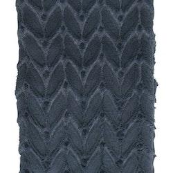 Braid en supermjuk långhårig fleccepläd som är fodrad med en skön mockaimitation. Färg: Blå.
