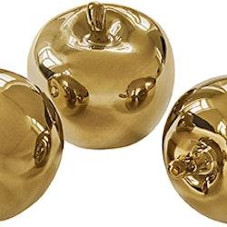 Gyllenäpplen från Cult design 3 st. Färg: Högblank mässing.