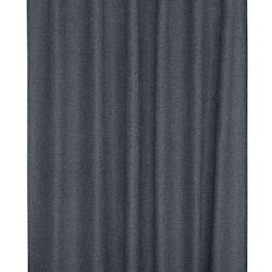Marie ett mörkläggande gardinset i linnevävd polyester med multiband. Färg: Stålblå.