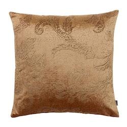 Roma paisley ett kuddfodral i sammet. Färg: Guld.