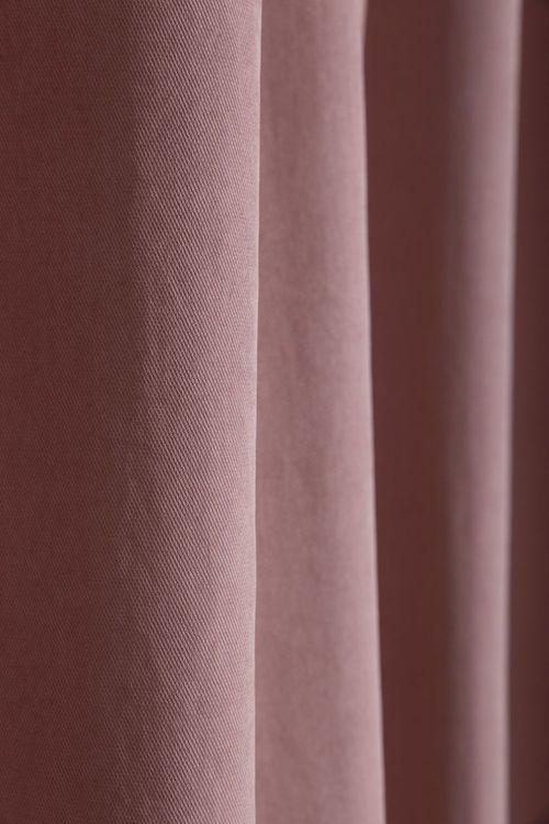 Cedrick är ett underbart mjukt gardinset med multiband. Färg: Rosa.