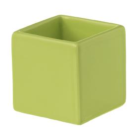 Kub Skål citronell. Färg: Citronell.