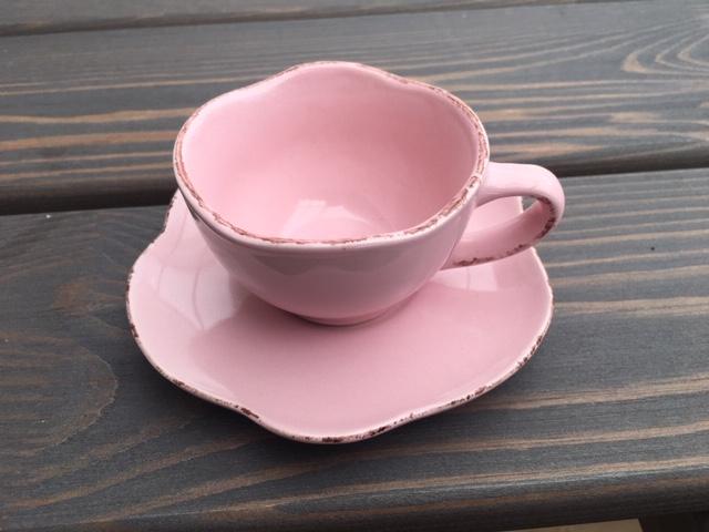Lona espressokopp från Modern house. Färg: Rosa.