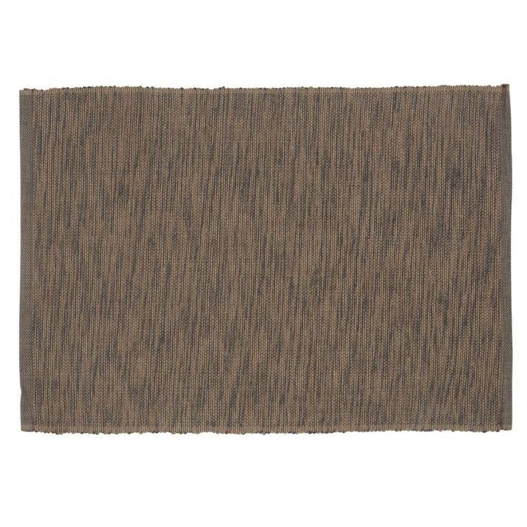 Sense melange en melerad ripstablett, art.nr 22855-86. Färg: Brun och svartmelerad.