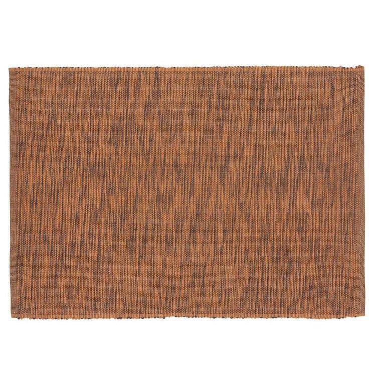 Sense melange en melerad ripstablett, art.nr 22855-26. Färg: Rost och svartmelerad.