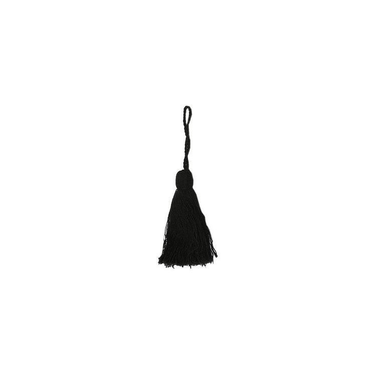 Nyckeltofs i bomull, art.nr 0820-00-009. Färg: Svart.