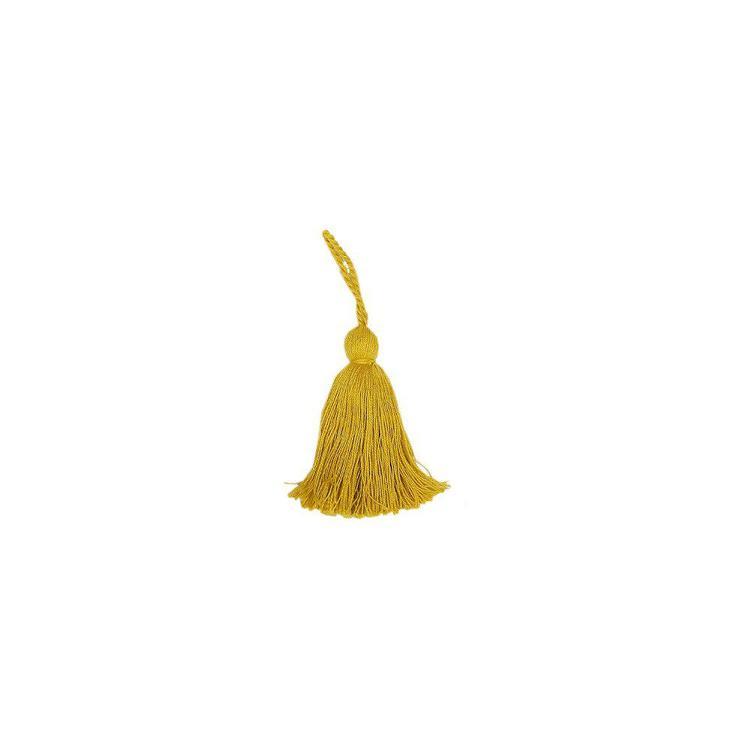 Nyckeltofs i bomull, art.nr 0820-00-037. Färg: Gul.