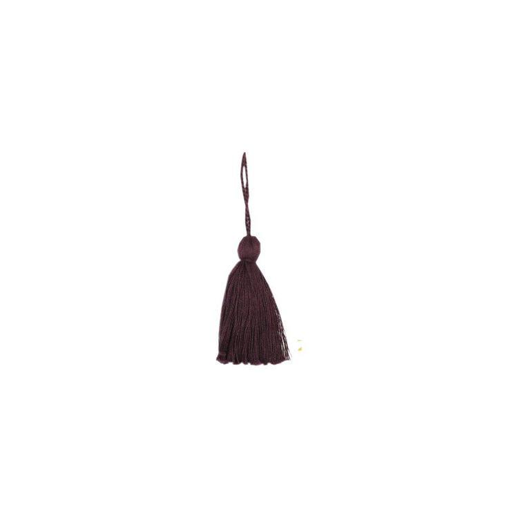 Nyckeltofs i bomull, art.nr 0820-00-044. Färg: Vinröd.