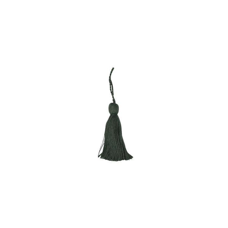 Nyckeltofs i bomull, art.nr 0820-00-777. Färg: Grön.