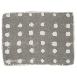 Valetta en prickig tablett i bomull, art.nr 9076-82-021. Färg: Linne.