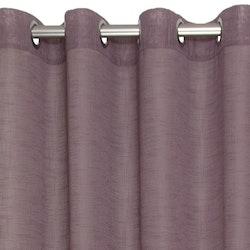Pastell en öljettkappa i linnevävd polyester, art.nr 7615-57-287. Färg: Ljung.