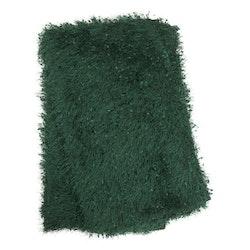 Glamour en lyxig pläd med ryakänsla, art.nr 9381-71-007.Färg: Grön.