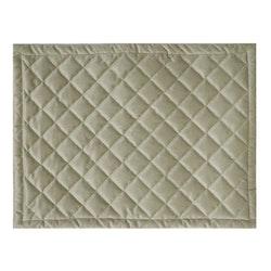 Quilty en lyxig tablett i sammet, art.nr 9859-82-002. Färg: Beige.