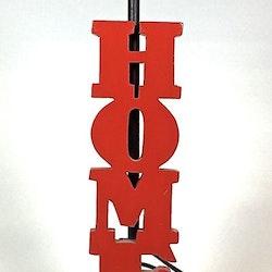 HOME en lampfot med E14 sockel. Färg: Röd.