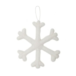Snöflinga är en underbar juldekoration, art.nr 9950-72-002. Färg: Off-white.