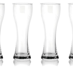 Pure and simple 4 pack med ölglas från Modern house.