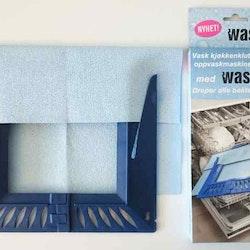 Wash-it en disktrasa med tvättställning till diskmaskinen från Modern house. Färg: Blå.